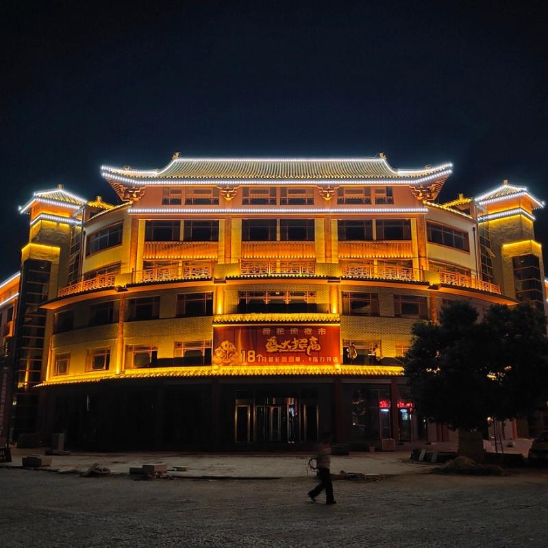 新奇晟百科|古建筑亮化,讓看得見的歷史發光發亮