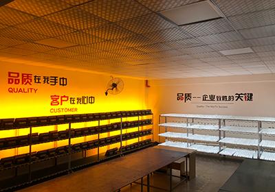 LED投光燈老化